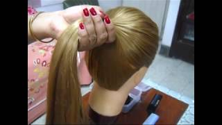 How you can make 3 different types of Horse tail or Pony tail.