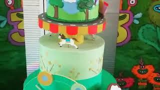Детский декор Торт на День рождение