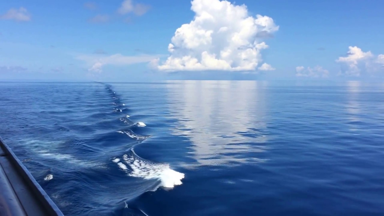 Java Sea Indonesia A Day Of Calm Seas On The High Seas Youtube