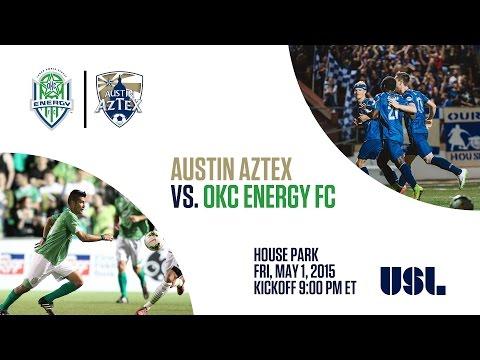USL: Austin Aztex vs. Oklahoma City Energy FC