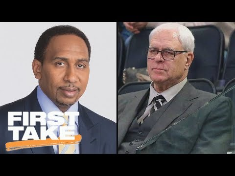 Best Of Stephen A. Smith Sounding Off On Phil Jackson   First Take