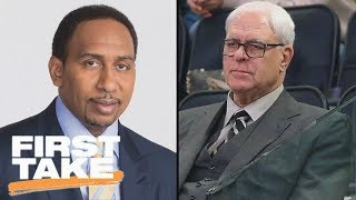 Best Of Stephen A. Smith Sounding Off On Phil Jackson | First Take