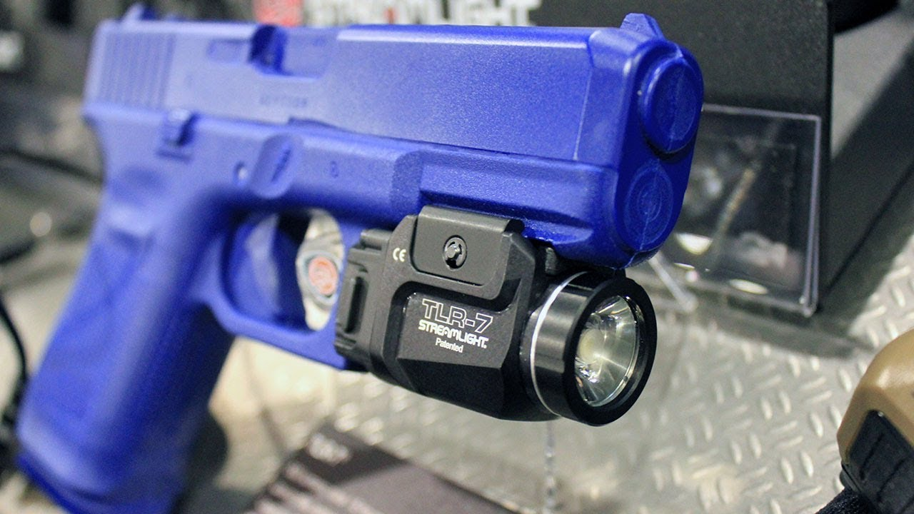 Streamlight TLR 7 and TLR 8 Weapon Lights at the 2018 SHOT