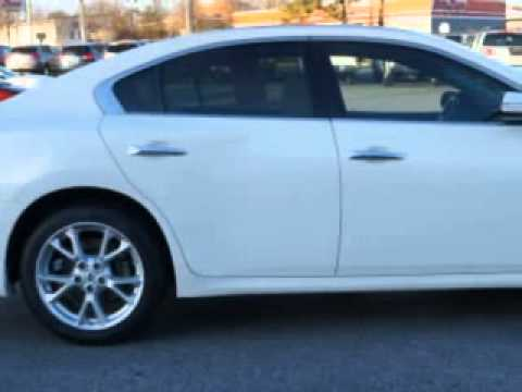 used 2012 nissan maxima 3 5 sv greensboro winston salem high point kernersville nc vann york 39 s. Black Bedroom Furniture Sets. Home Design Ideas