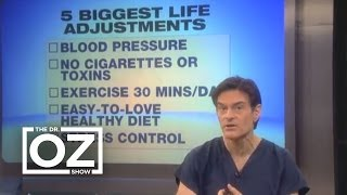 Dr. Oz on Living Longer