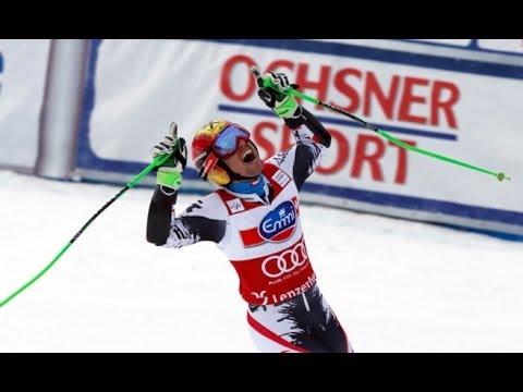 Lenzerheide 2014 - Slalom - Marcel Hirscher holt sich Slalomkristall