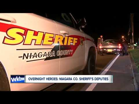 Overnight heroes: Niagara County deputies cover lots of ground, rely on vigilance to make arrests