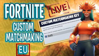 🔴 (EU)CUSTOM MATCHMAKING CODE- beck FORTNITE EN DIRECT DE L'ANNÉE . UTILISEZ LE CODE BECKOLIVIA19 DANS LA BOUTIQUE . ROAD TO 1.7k