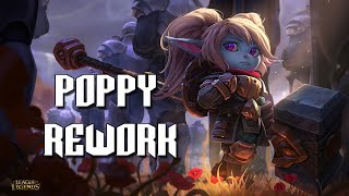 Poppy Rework - Habilidades e Visual (League of Legends)