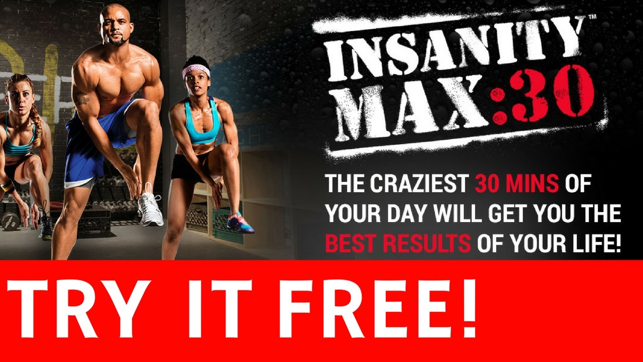 Does Insanity Max 30 Work? [Try It for FREE] - Full Infomercial - As Seen  On TV