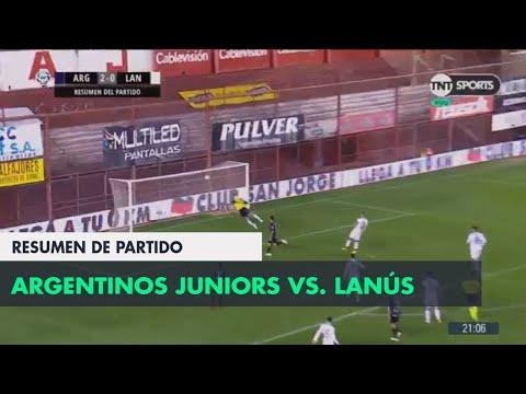 Resumen de Argentinos Juniors vs Lanús (2-0)   Fecha 4 - Superliga Argentina 2018/2019
