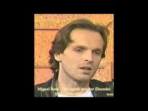 Miguel Bosé - The eighth wonder (Duende english version)