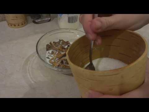 Как сушеные грибы превратить в свежие