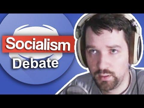 Socialism Debate with Fan