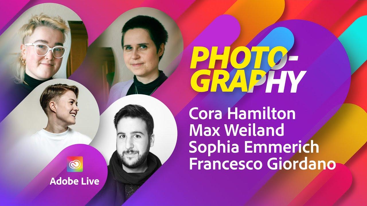 Sophia's Pride shoot Photo Masterclass   Adobe Live