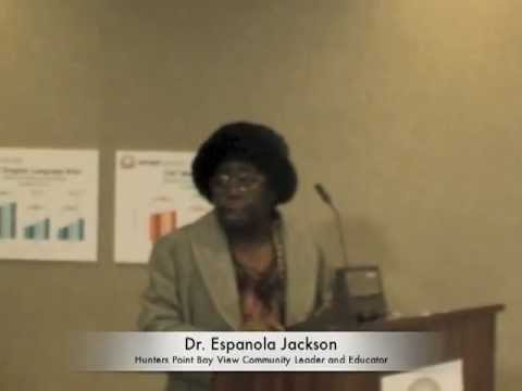 SFUSD School Bd Exclusion Of Dr. Espanola Jackson From Speaking and Cover-up Of Racist Crimes at MLK