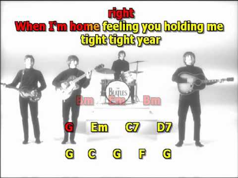 A Hard Day's Night Beatles best karaoke instrumental lyrics chords more bass same mix as the orginal