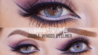 Arabic Double Winged eyes Makeup By Ani Thumbnail