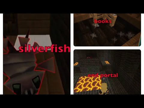 Silverfish .books. End Portal : Planet Of Cubes Planetcraft @library