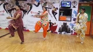 Poplin   Sardaarji 2   Diljit Dosanjh   Basic Bhangra Steps on Poplin   Ladies Dance Performance