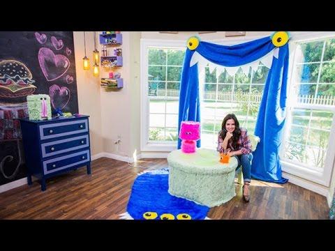 Tanya Memme's DIY Monster Themed Kid's Room Accessories