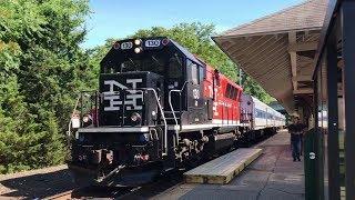 Metro North Railroad Waterbury Shuttle @ Derby–Shelton (6/28/19)
