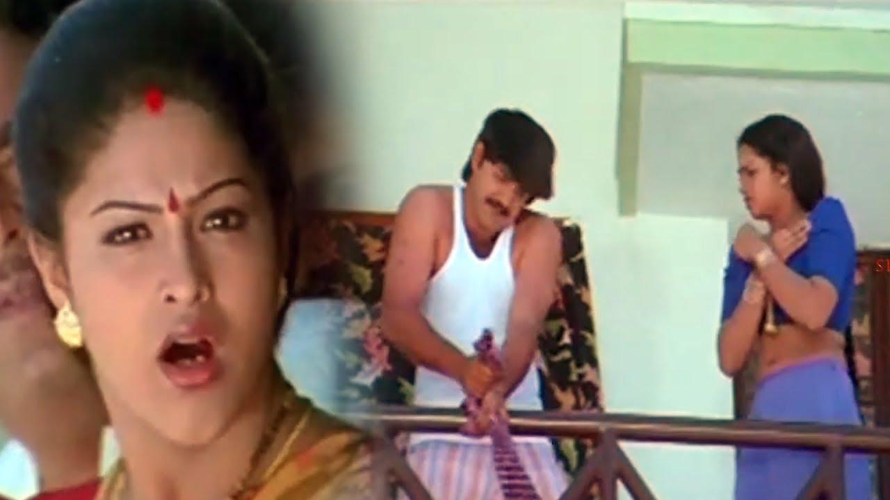 Download Srikanth Caught Red Handed by Raasi Ultimate Scene | Telugu Videos | Sithaara