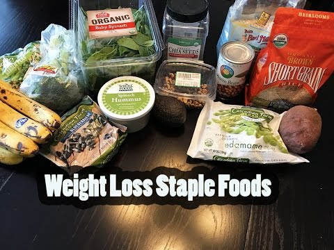 My Weight Loss Staple Foods