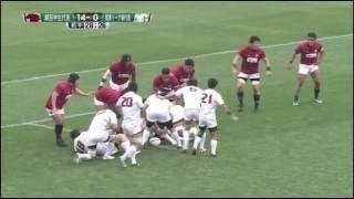 大学ラグビー16 【関西ラグビー祭】 関西学生代表 vs. 関東大学リーグ戦代表