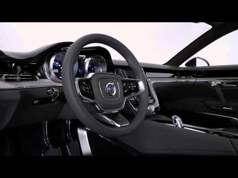 Volvo Concept Coupe studio footage