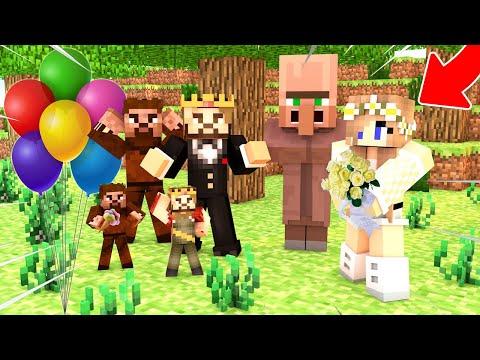 ZENGİN BARBİ İLE EVLENİYOR! 😱 - Minecraft