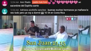 DIALOGO BÍBLICO EN VIVO LA IGLESIA DE CRISTO - PADRE LUIS TORO