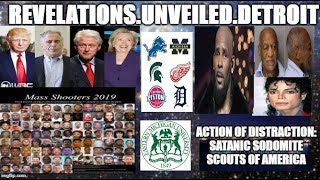 Action of Distraction: SATANIC SODOMITE SCOUTS of America.    #IADOS