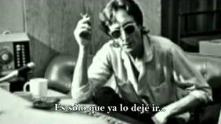 JOHN LENNON - Watching The Wheels (subtitulos español)