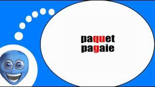 Французского видео урок = Фонетика # K г