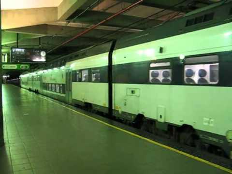 Partenza S5 dalla stazione Milano Repubblica