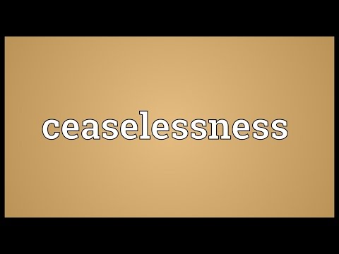 Header of ceaselessness