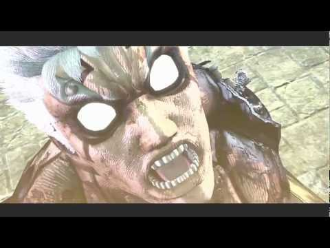 Asura's Wrath BESERKER MODE (nine tail naruto like power)