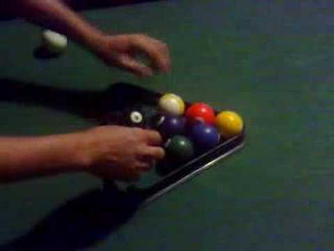 how to arrange 9 ball