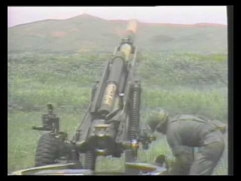 M102 105mm Howitzer Youtube