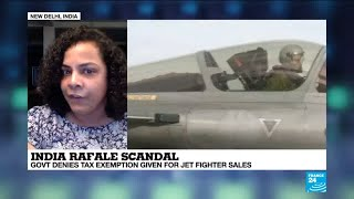 India Rafale scandal: government denies tax exemption given for fighter jet sales