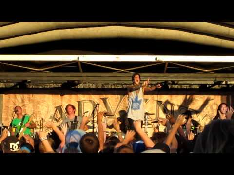Let Live- Of Mice & Men Live Warped Tour Toronto July 15 2011 HD