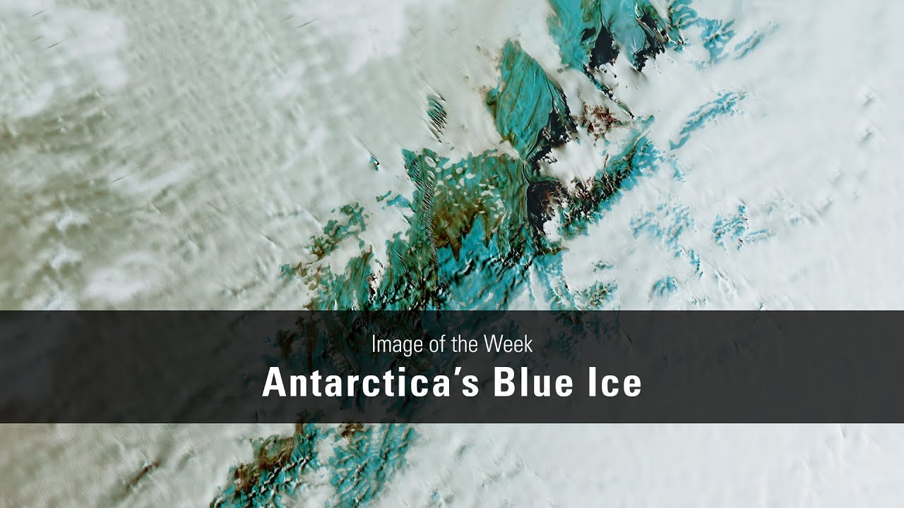 Antarctica's Blue Ice