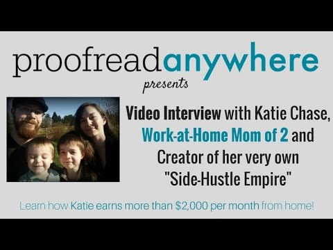 Interview with Katie, Graduate of Proofread Anywhere