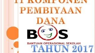 Gambar cover BOS 2017 11 KOMPONEN PEMBIAYAAN DANA (JUKNIS)