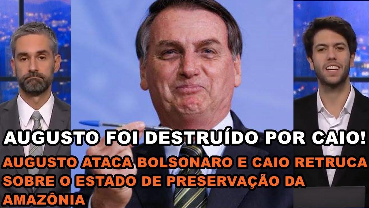 Caio D#STROI AUGUSTO sobre a PRESERVAÇÃO DA AMAZÔNIA no Governo BOLSONARO