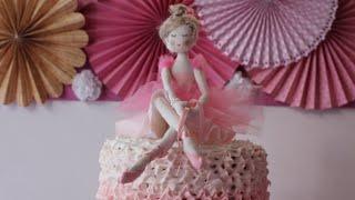 Como fazer Bailarina em tecido – parte 1 por Carolina Stefano