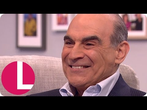 'Poirot' Star David Suchet Is Ecstatic to Be in Doctor Who! | Lorraine