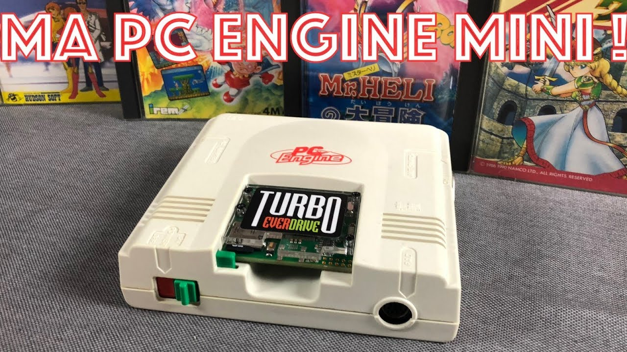 #174 - Ma PC Engine Mini au banc d'essai !
