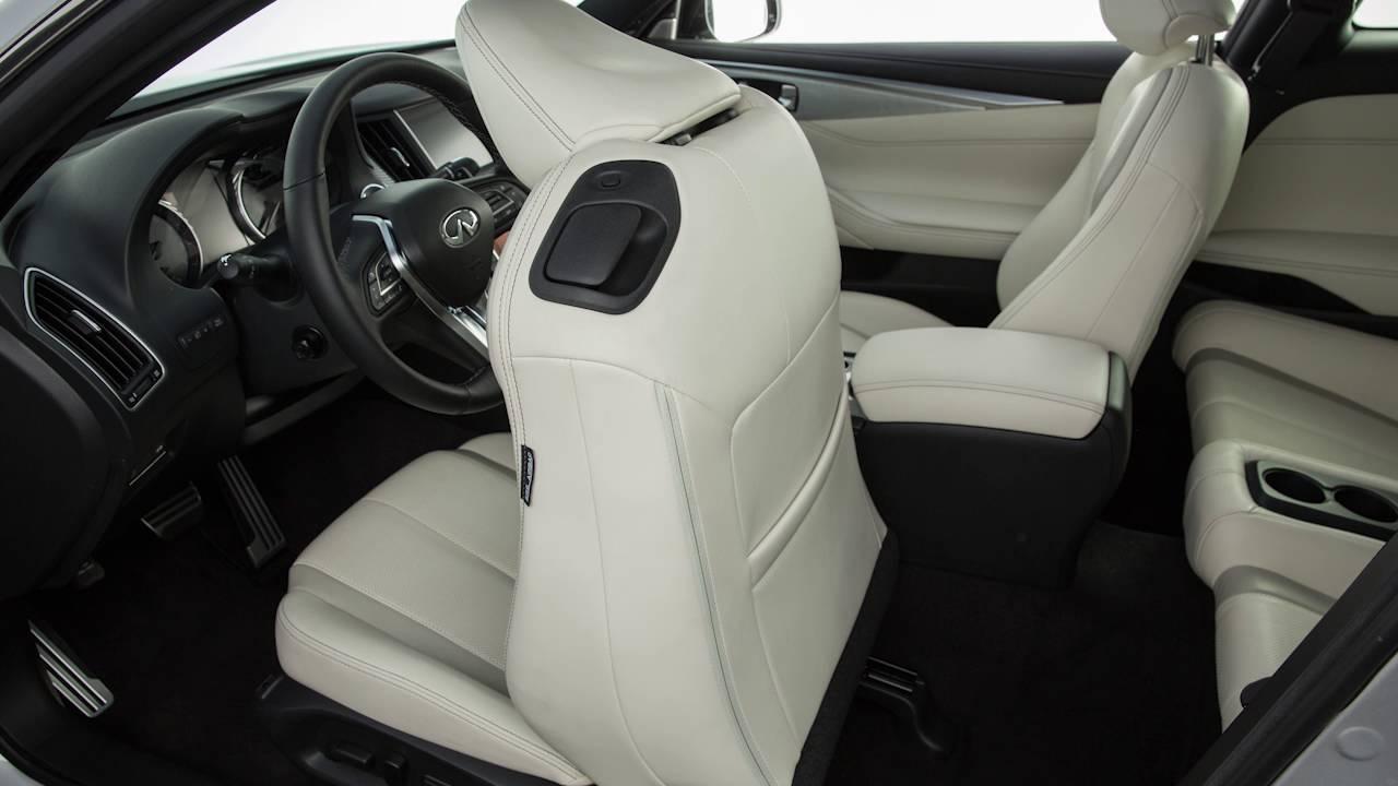2017 Infiniti Q60 Seat Adjustments Youtube